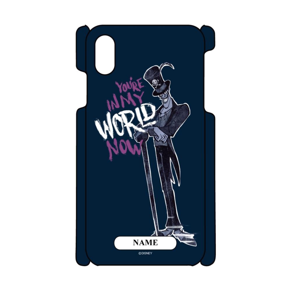【D-Made】名入れ iPhoneケース プリンセスと魔法のキス ドクター・ファシリエ WORLD ヴィランズ