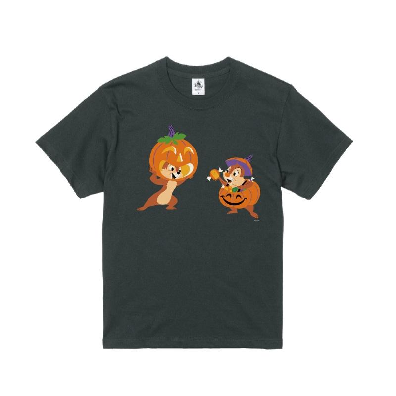 【D-Made】Tシャツ チップ&デール かぼちゃ Disney Halloween 2021