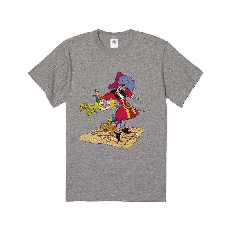【D-Made】Tシャツ ピーター・パン フック船長&ピーター・パン