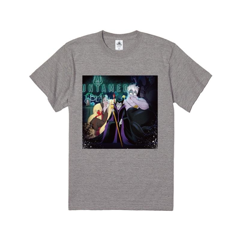 【D-Made】Tシャツ ヴィランズ クルエラ&マレフィセント&アースラ Disney Villains