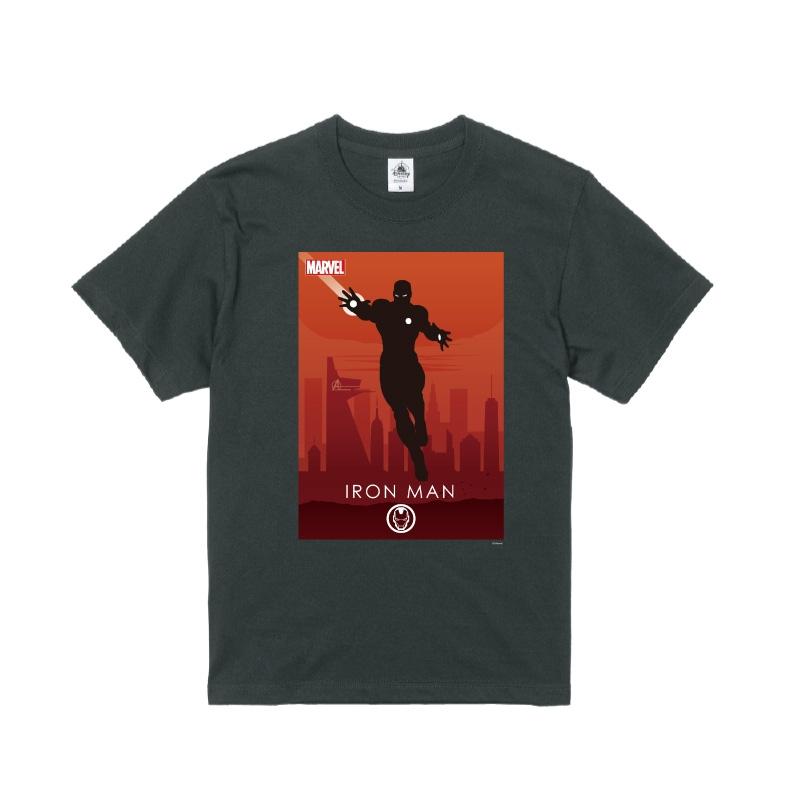 【D-Made】Tシャツ MARVEL アイアンマン HEROシルエット