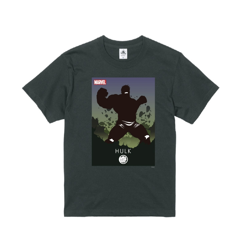 【D-Made】Tシャツ MARVEL ハルク HEROシルエット