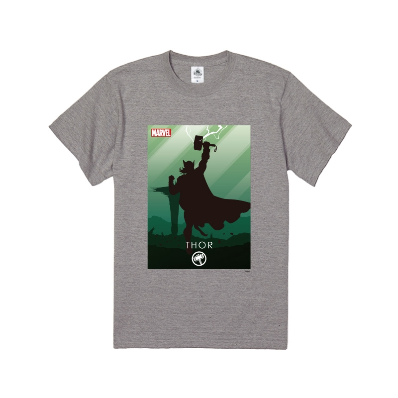 【D-Made】Tシャツ MARVEL マイティ・ソー HEROシルエット