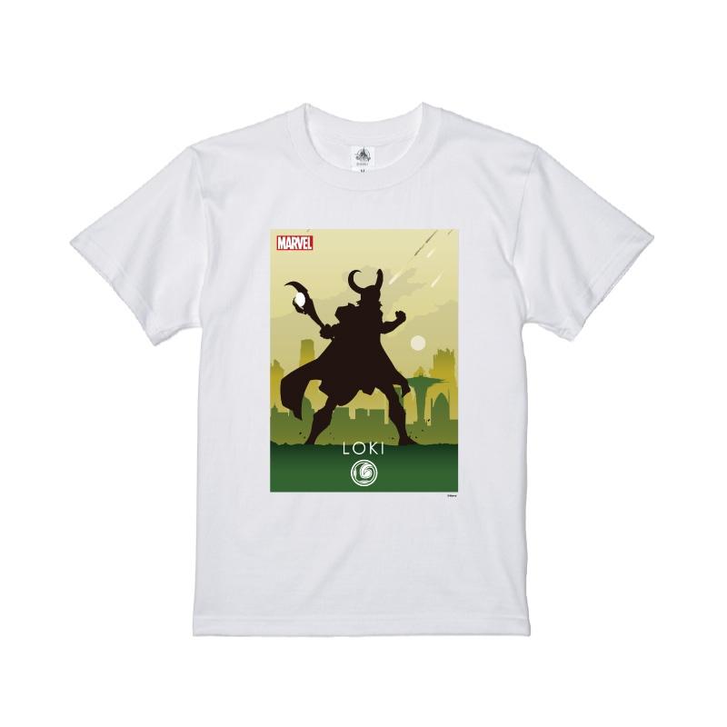 【D-Made】Tシャツ MARVEL ロキ HEROシルエット