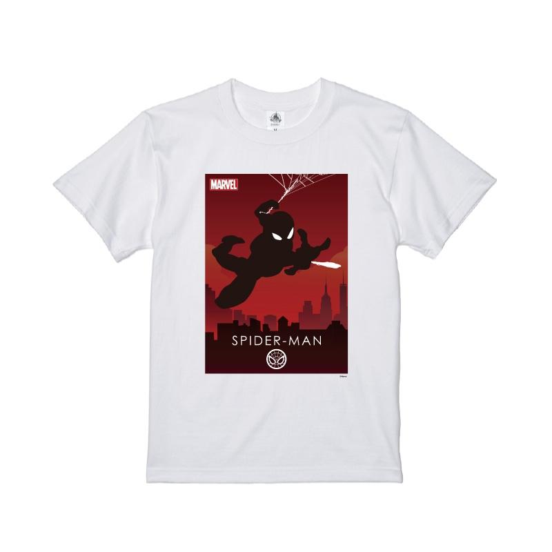 【D-Made】Tシャツ MARVEL スパイダーマン HEROシルエット