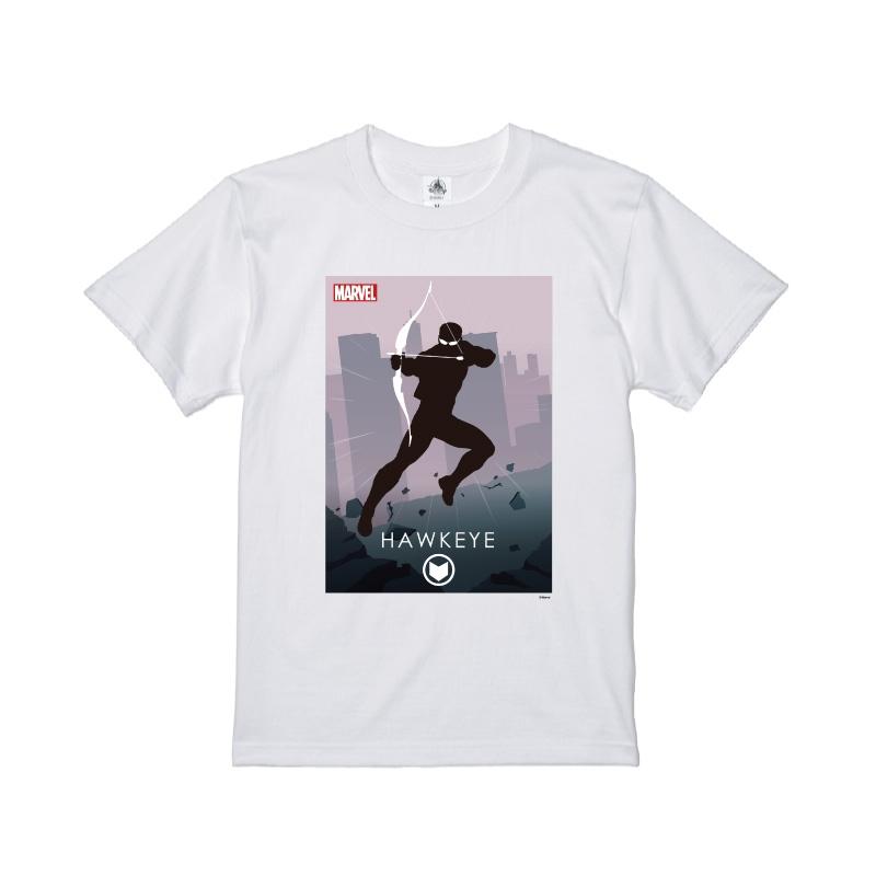 【D-Made】Tシャツ MARVEL ホークアイ HEROシルエット