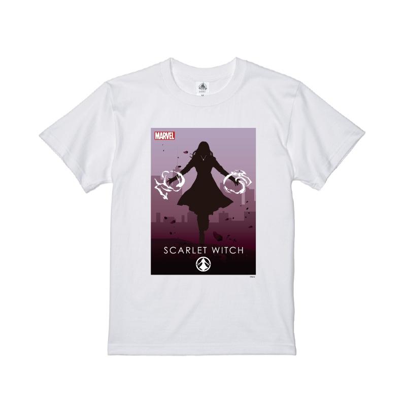 【D-Made】Tシャツ MARVEL スカーレット・ウィッチ HEROシルエット