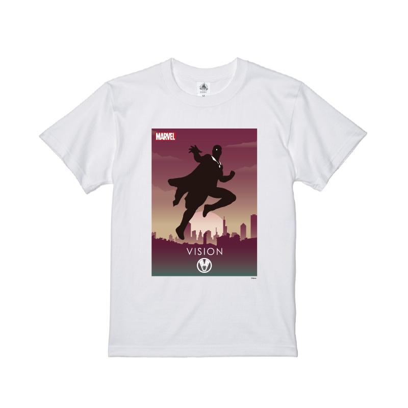 【D-Made】Tシャツ MARVEL ヴィジョン HEROシルエット