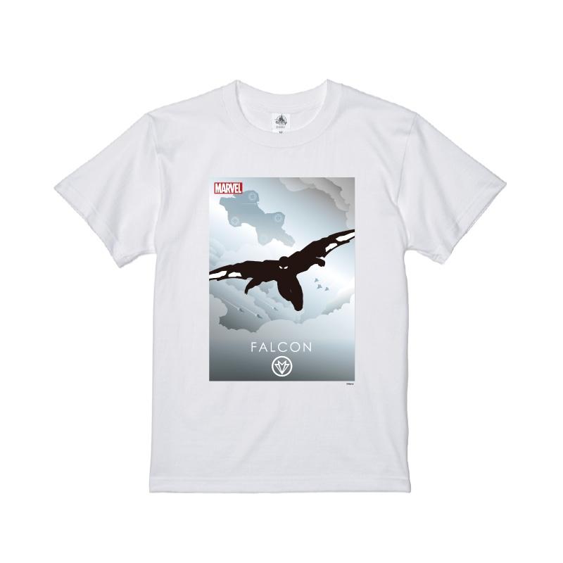 【D-Made】Tシャツ MARVEL ファルコン HEROシルエット