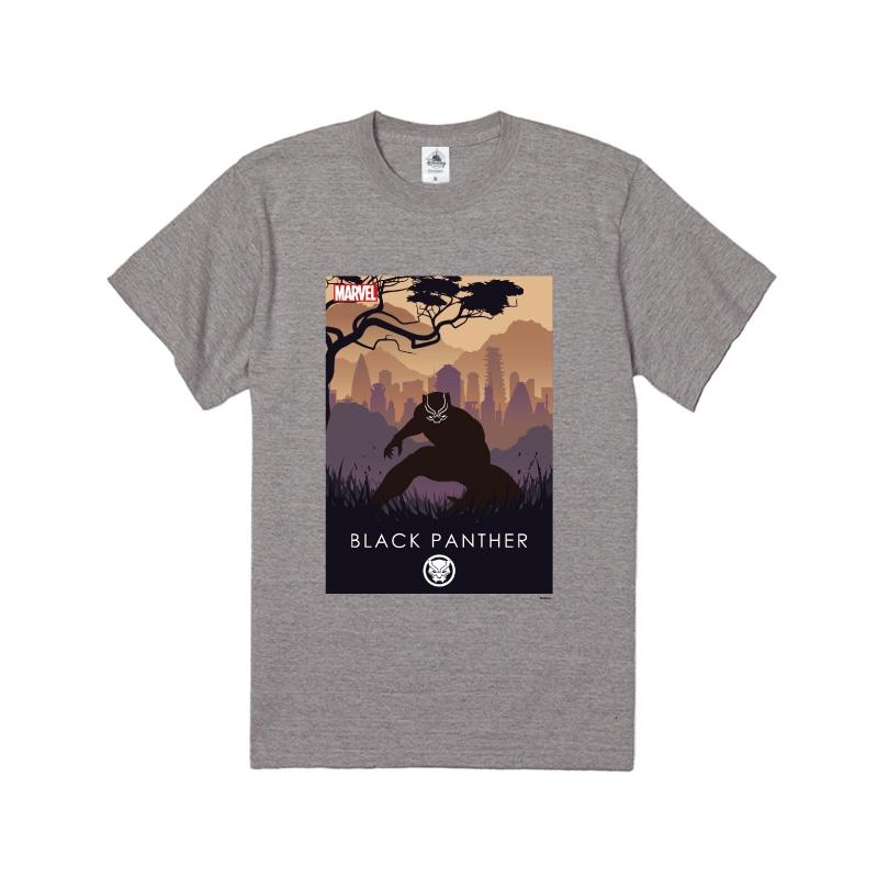 【D-Made】Tシャツ MARVEL ブラックパンサー HEROシルエット