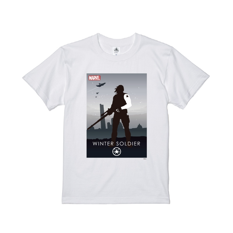 【D-Made】Tシャツ MARVEL ウィンター・ソルジャー HEROシルエット