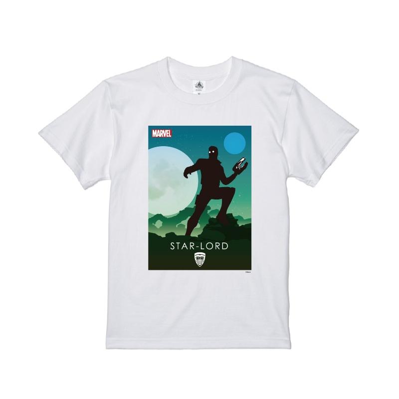 【D-Made】Tシャツ MARVEL スター・ロード HEROシルエット