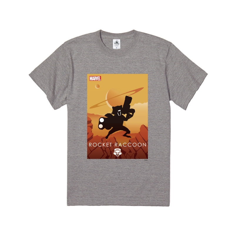【D-Made】Tシャツ MARVEL ロケット・ラクーン HEROシルエット