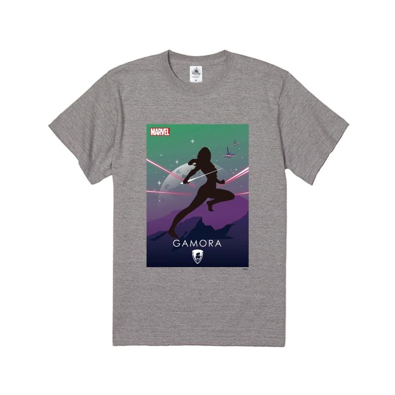 【D-Made】Tシャツ MARVEL ガモーラ HEROシルエット