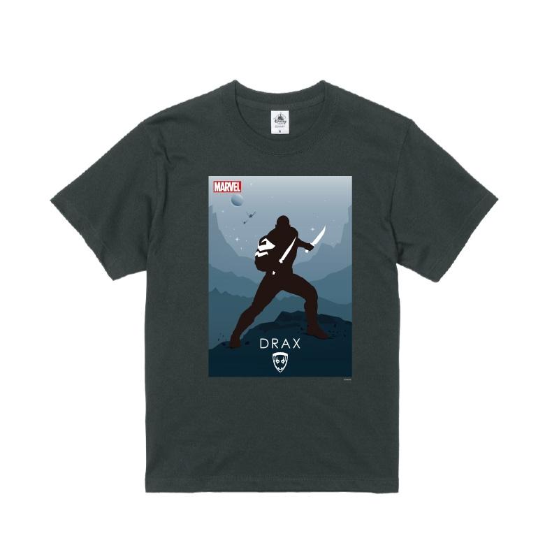 【D-Made】Tシャツ MARVEL ドラックス HEROシルエット