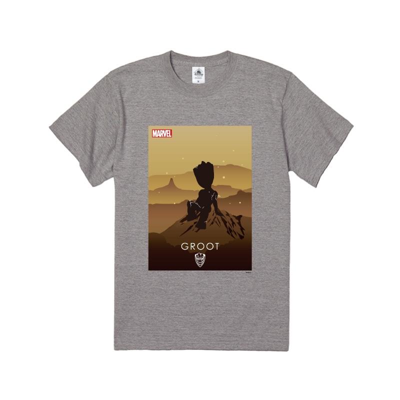 【D-Made】Tシャツ MARVEL グルート HEROシルエット
