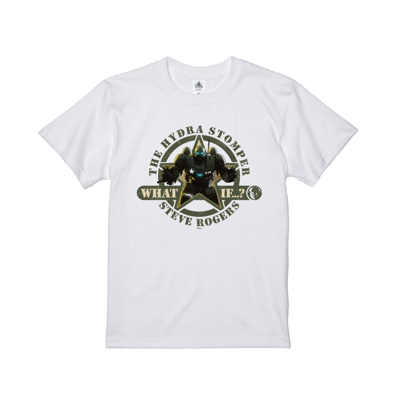 【D-Made】Tシャツ ホワット・イフ…? THE HYDRA STOMPER STEVE ROGERS