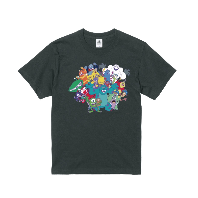 【D-Made】Tシャツ モンスターズ・インク 集合 Monsters Inc. 20th