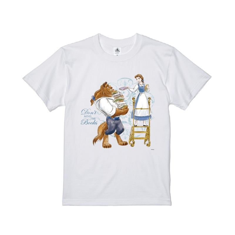【D-Made】Tシャツ 美女と野獣 ベル&野獣 Book