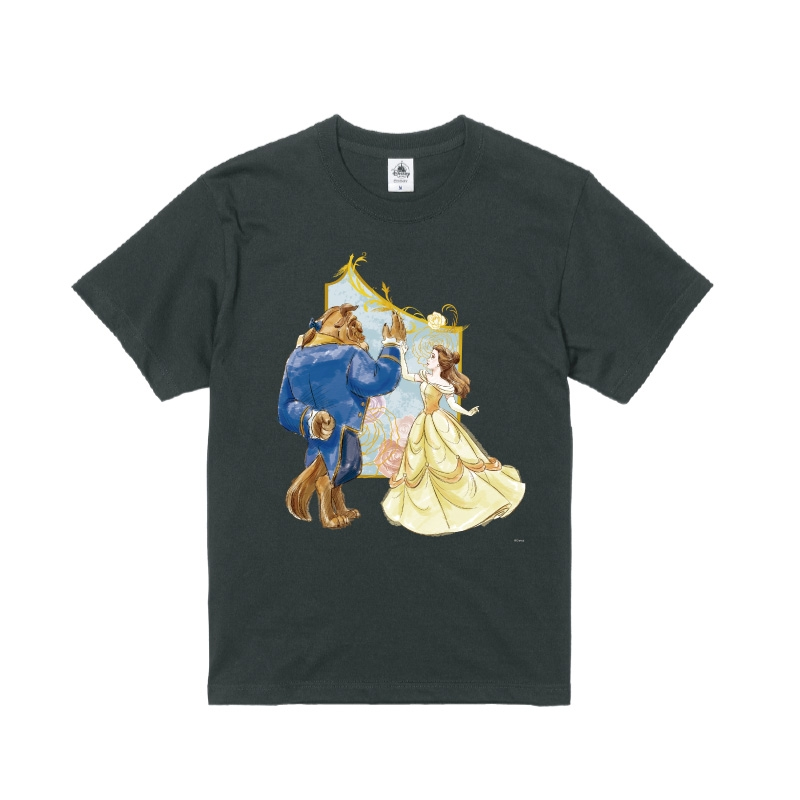 【D-Made】Tシャツ 美女と野獣 ベル&野獣 ハイタッチ