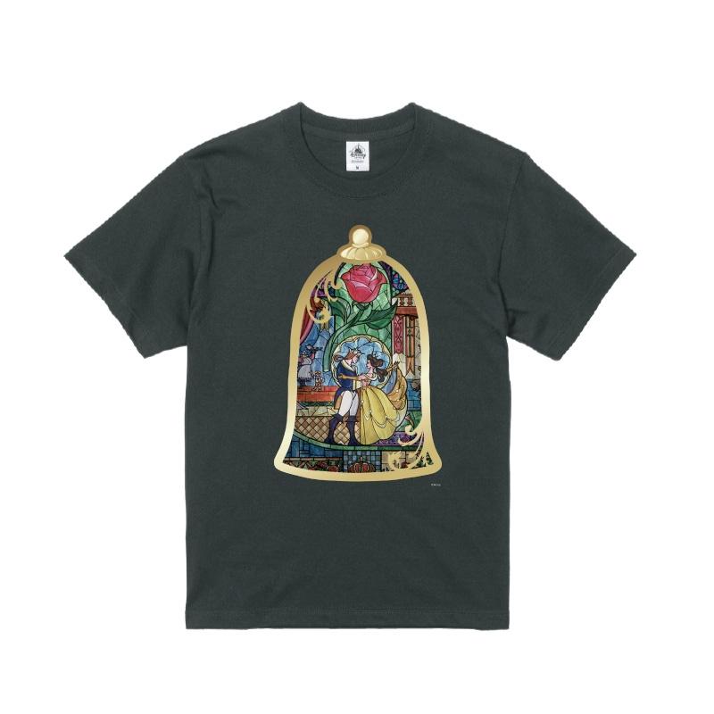 【D-Made】Tシャツ 美女と野獣 ステンドグラス
