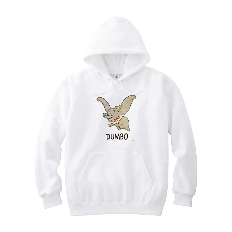 【D-Made】パーカー ダンボ ロゴ Dumbo 80