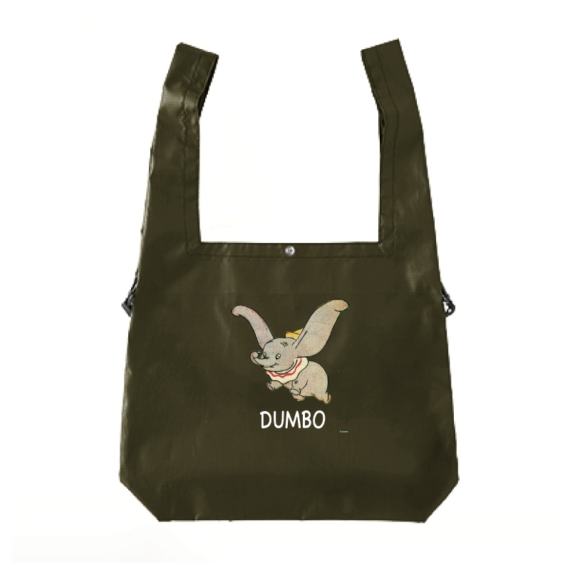 【D-Made】エコバッグ ダンボ ロゴ Dumbo 80