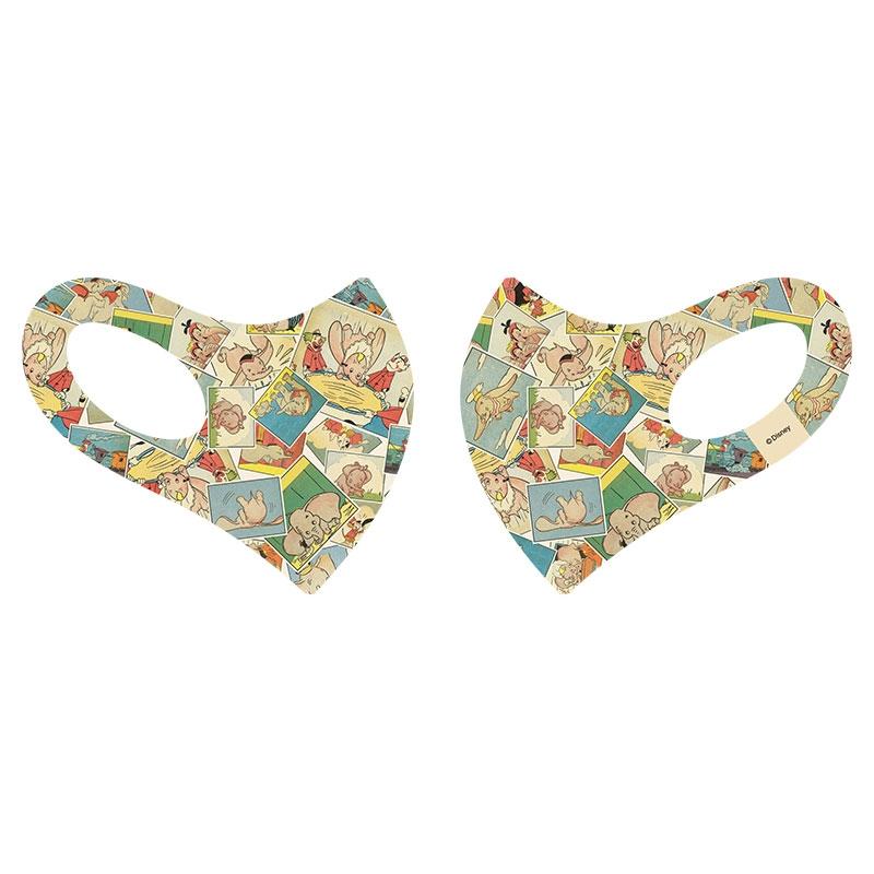 【D-Made】マスク 総柄 ダンボ コミック Dumbo 80