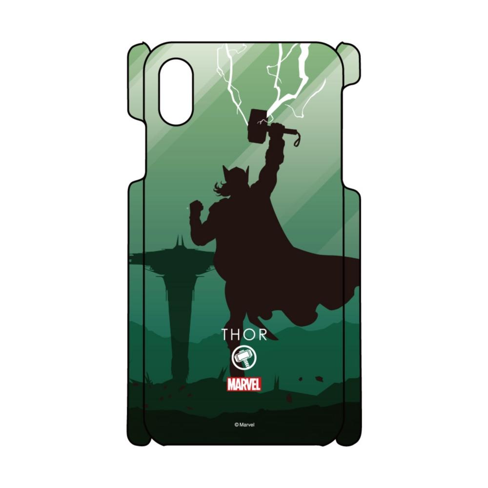 【D-Made】iPhoneケース MARVEL マイティ・ソー HEROシルエット