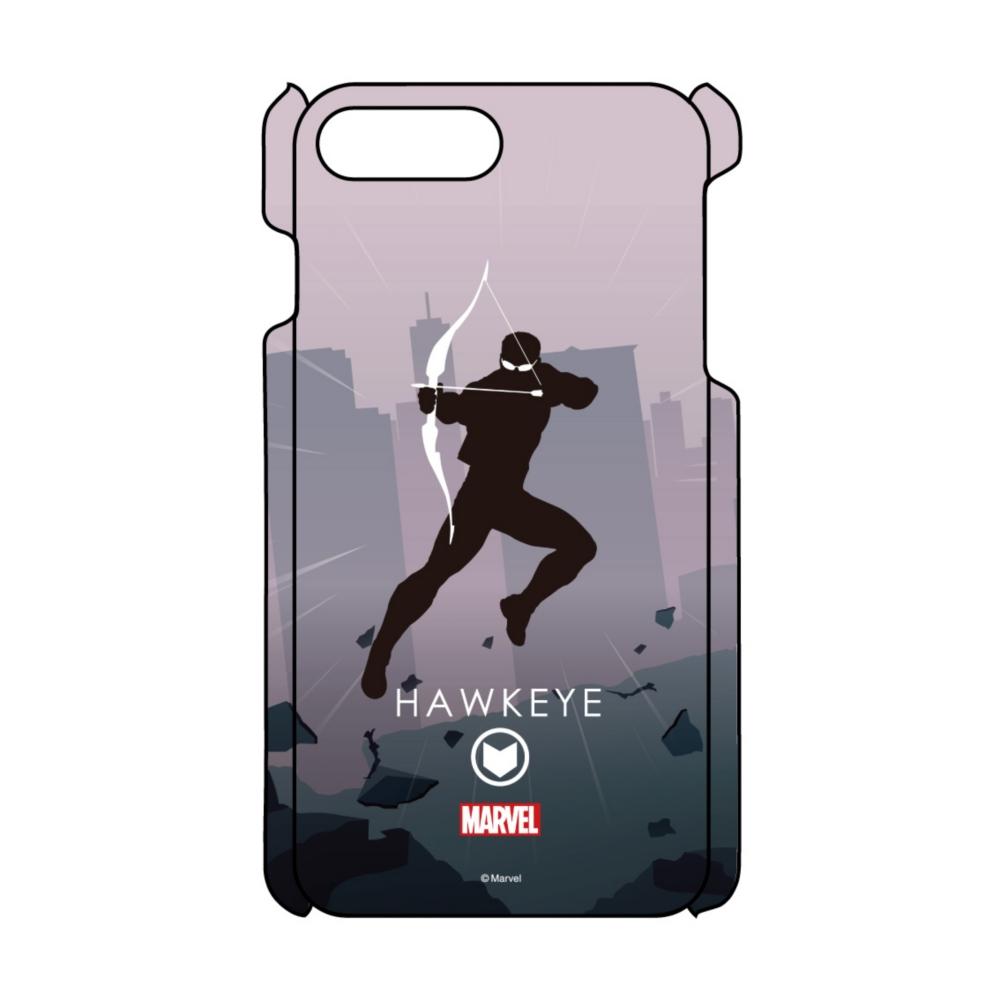 【D-Made】iPhoneケース MARVEL ホークアイ HEROシルエット
