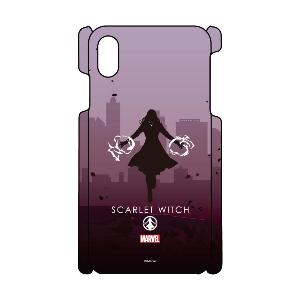 【D-Made】iPhoneケース MARVEL スカーレット・ウィッチ HEROシルエット