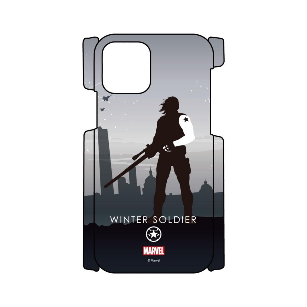 【D-Made】iPhoneケース MARVEL ウィンター・ソルジャー HEROシルエット