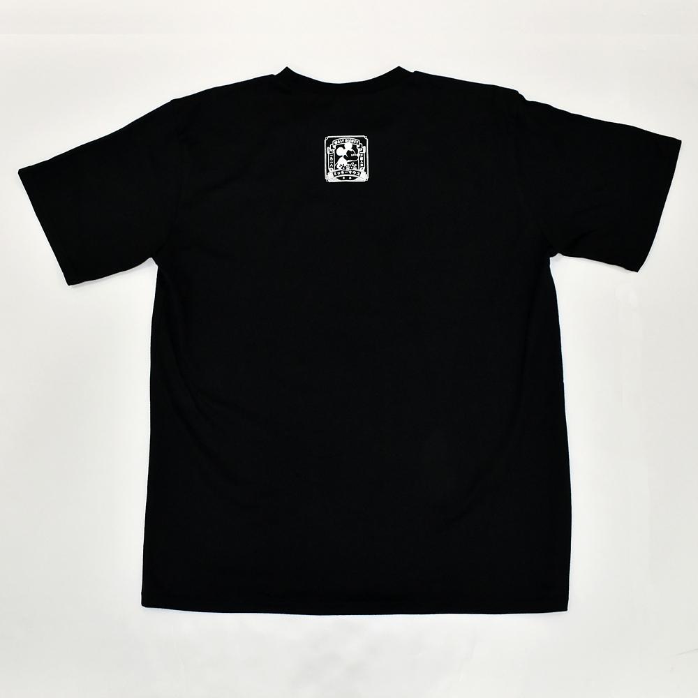ミッキー日本限定アートTシャツ(ブラック)
