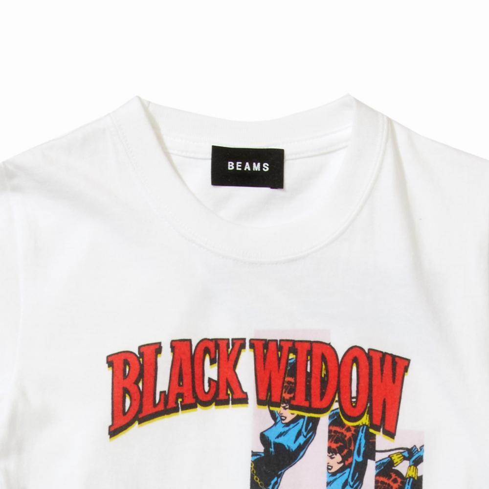 【BEAMS】 FLAGSTUFF S/S KIDS TEE WHITE