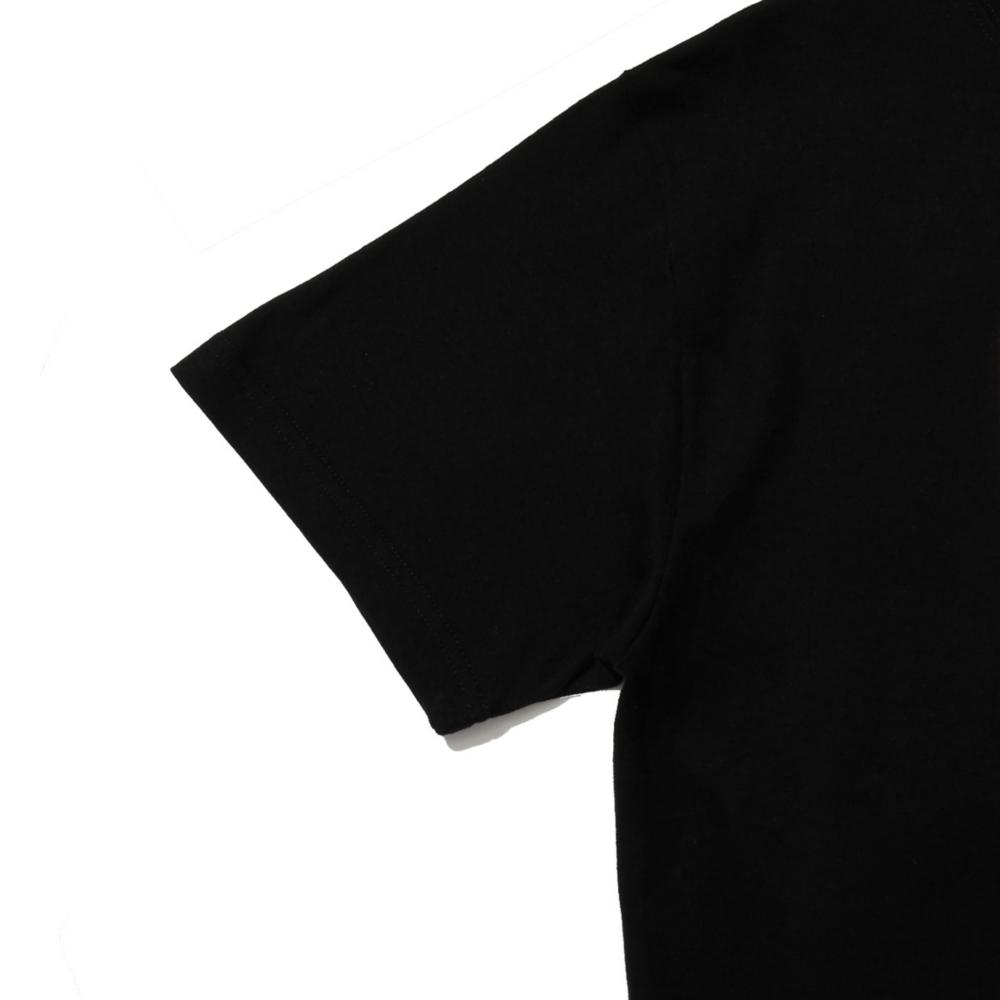【BEAMS】  河村 康輔 S/S TEE① BLACK