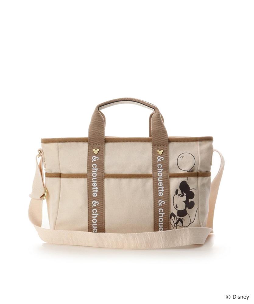 【Disney Collection】ミッキーキャンバストートバッグ