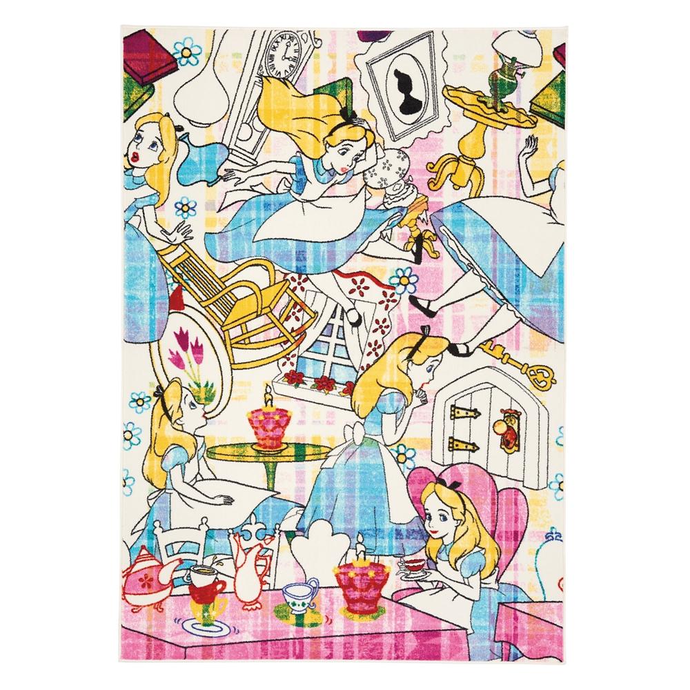 アリス ストーリー ラグ DRA-1064 ピンク