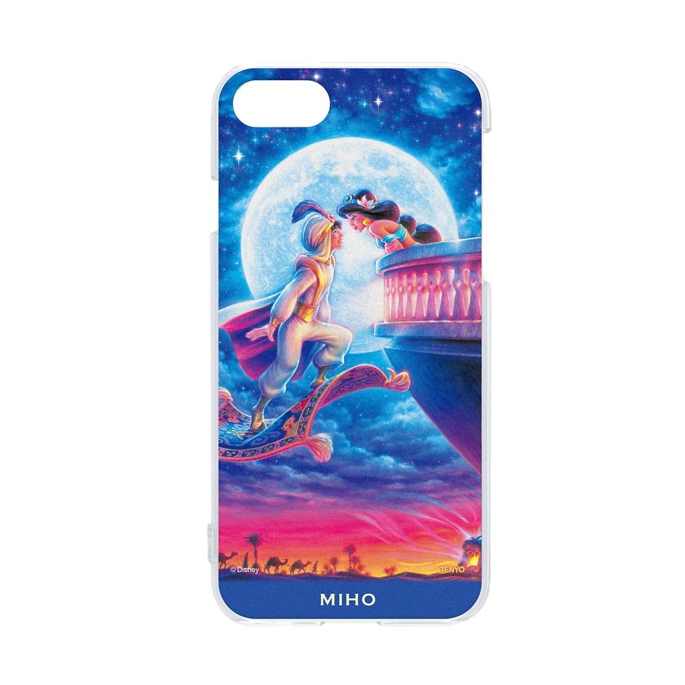 【名入れ料と送料無料】名入れ スマホケース・カバー  iPhone専用 「ムーンライト ロマンス」