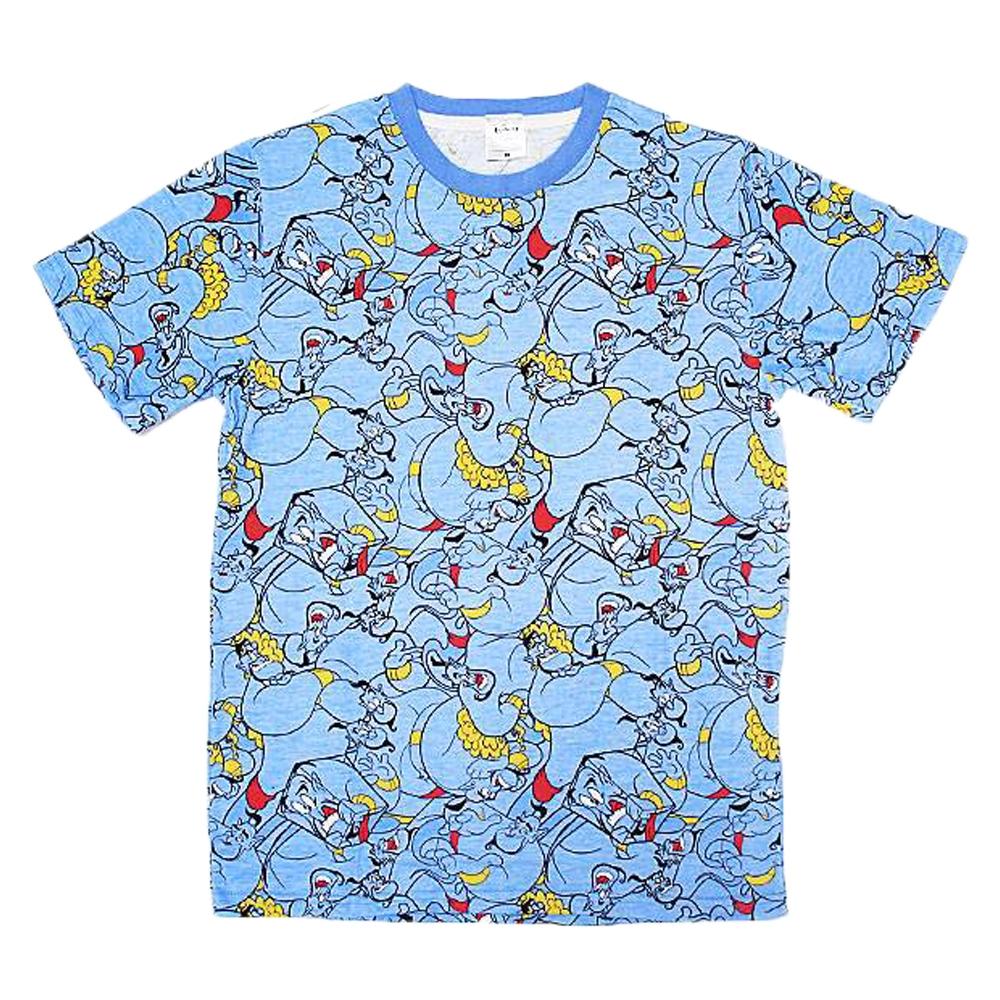 ディズニー ジーニー ぎっしり 総柄Tシャツ