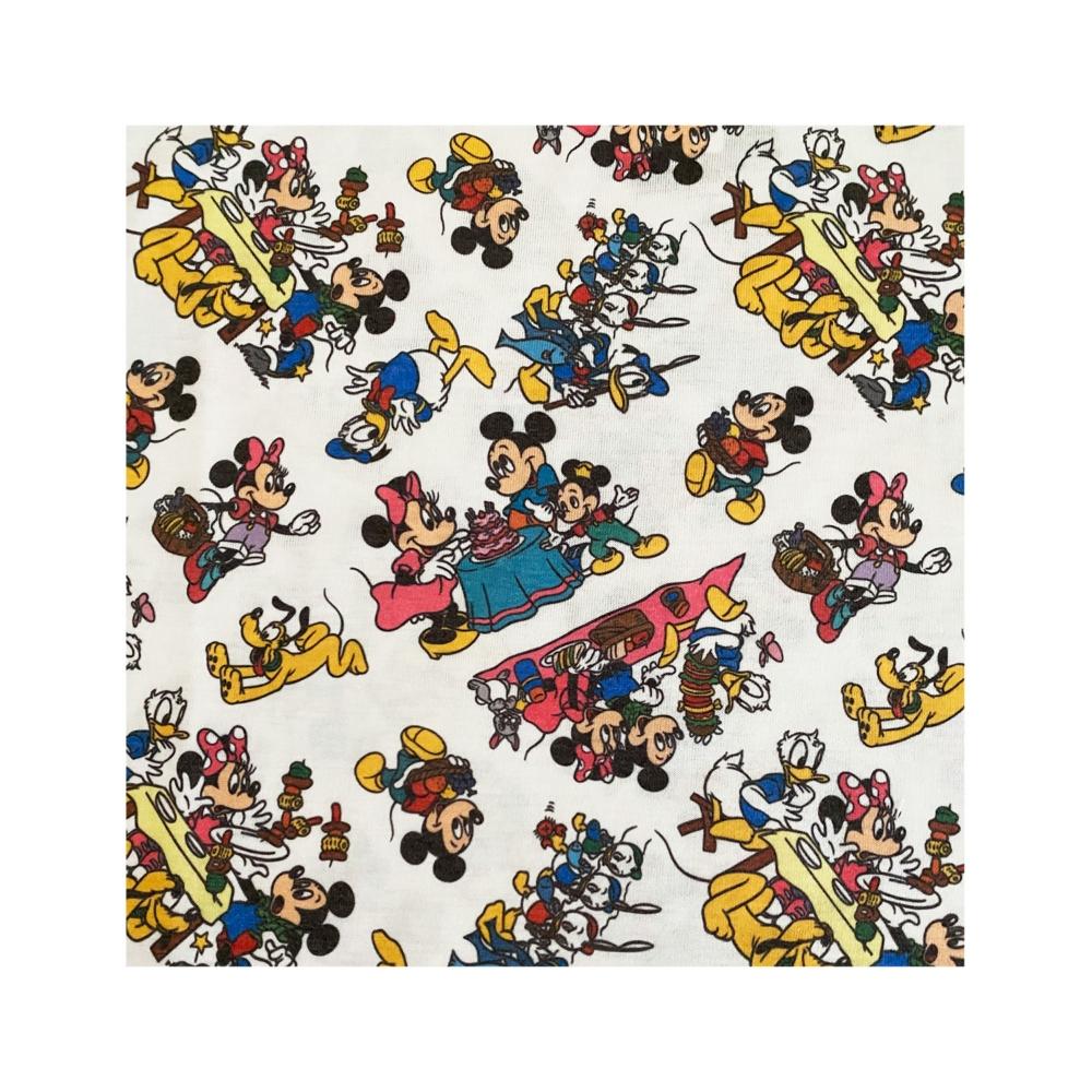 ディズニー ミッキーマウス&フレンズ 総柄プリント KIDS Tシャツ