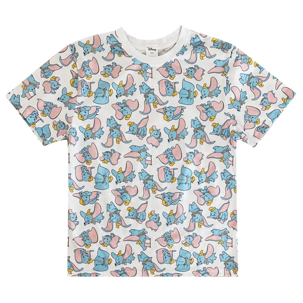 ディズニー キャラクター ダンボ 総柄プリントTシャツ