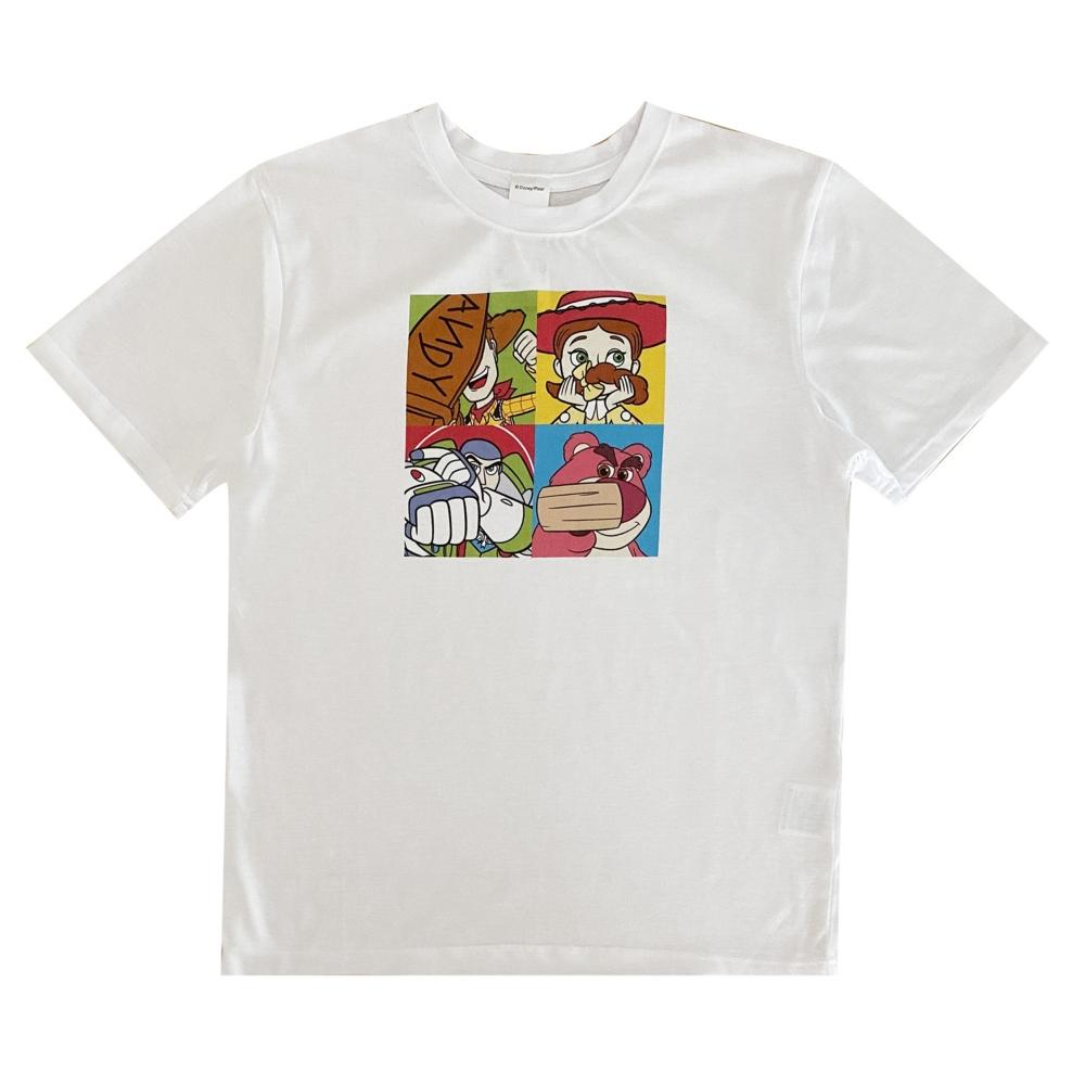 ディズニー ピクサー カラープリントTシャツ