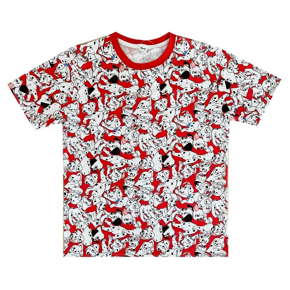 ディズニー 101匹わんちゃん 総柄ぎっしり Tシャツ