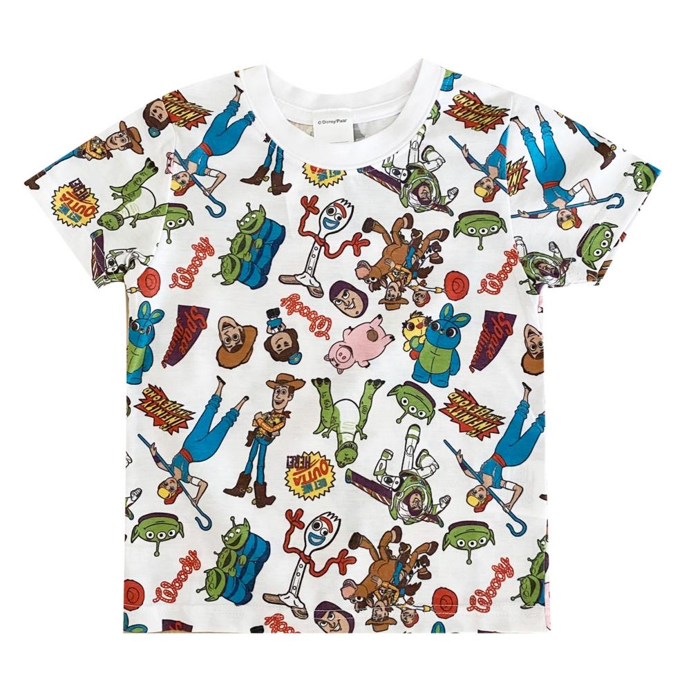 トイ・ストーリー 総柄プリント KIDS Tシャツ