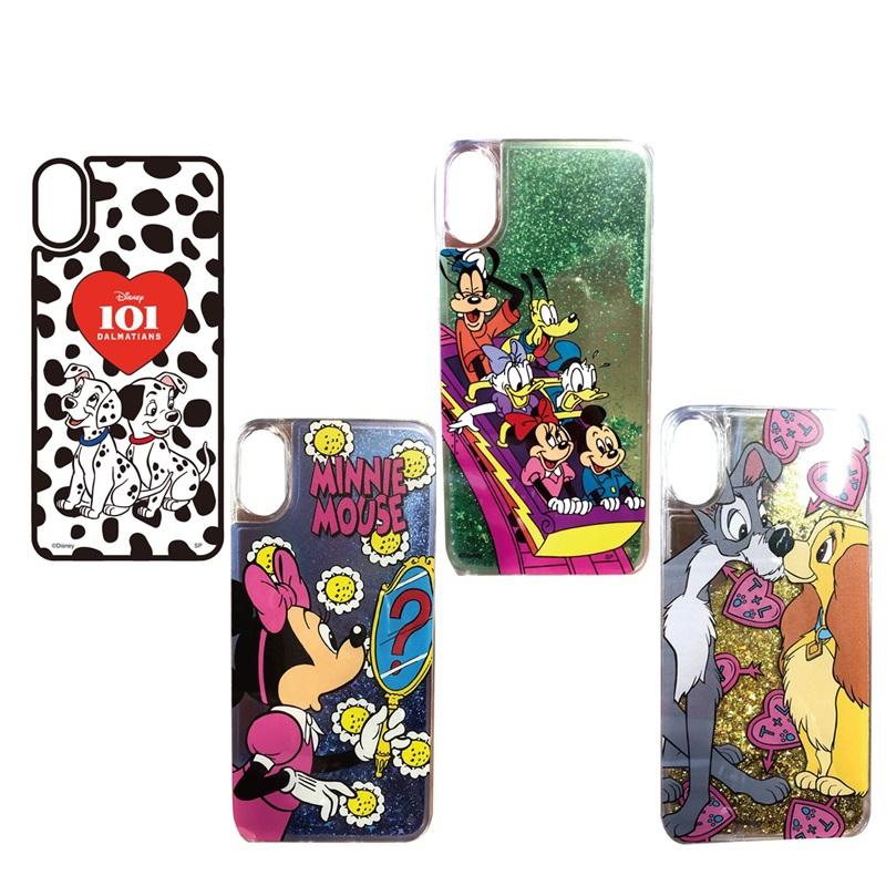 ノスタルジカ ディズニーキャラクター iPhone X、Xs ケース P2