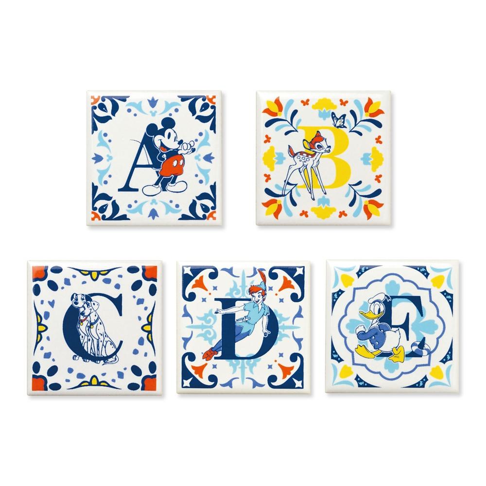 shopDisney先行販売・陶器シリーズ アルファベットタイル