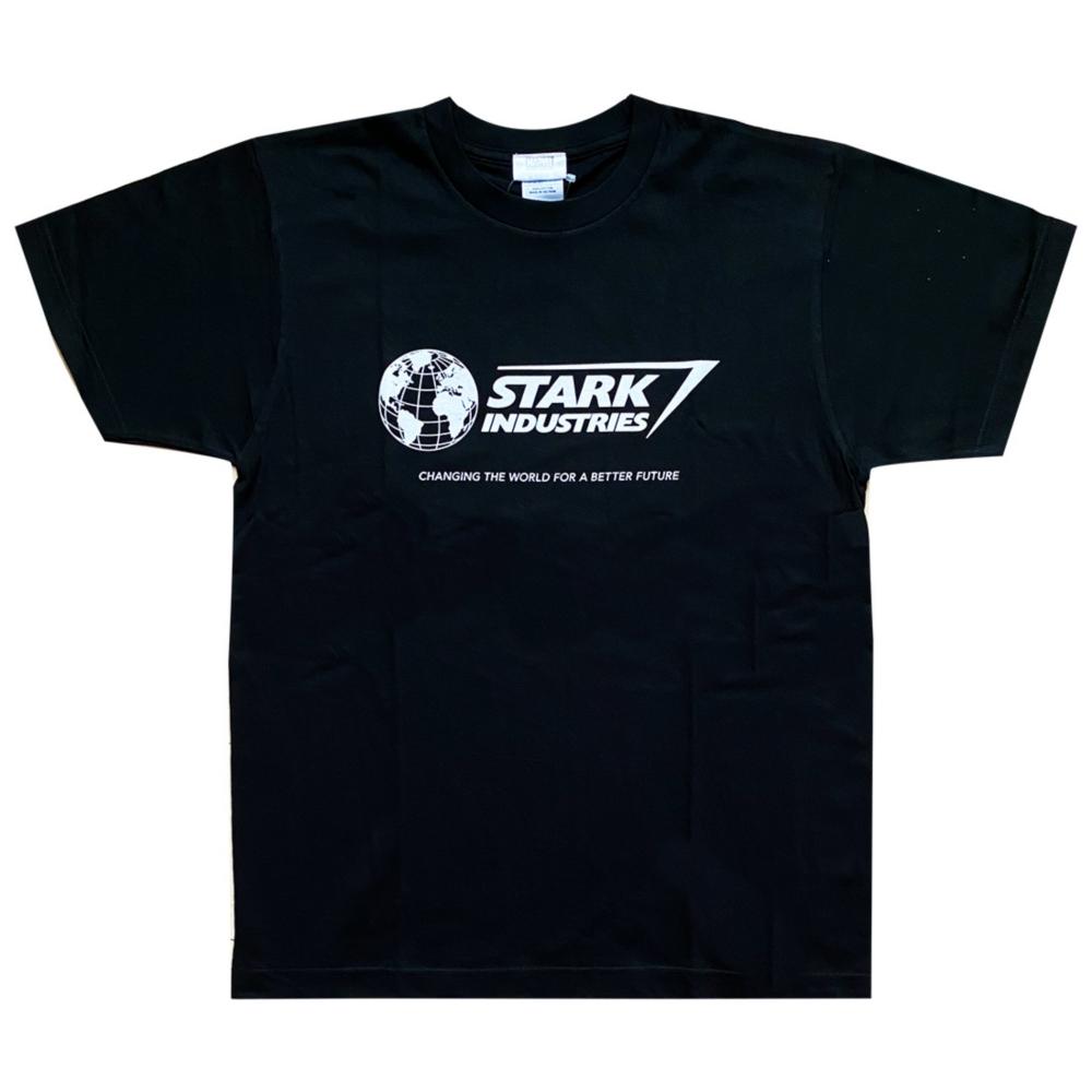 MARVEL マーベル スターク・インダストリーズ ロゴ Tシャツ