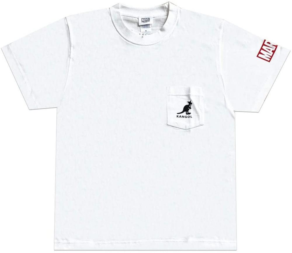 MARVEL マーベル×カンゴール ワンポイントTシャツ