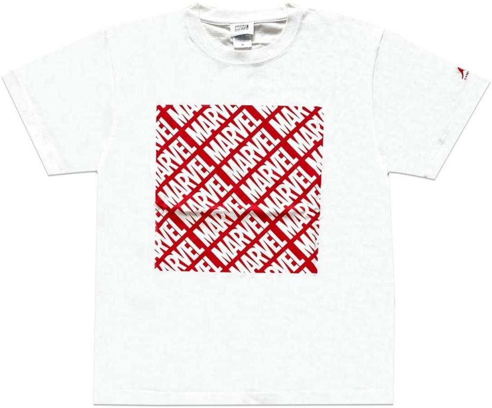 MARVEL マーベル×カンゴール パターンTシャツ