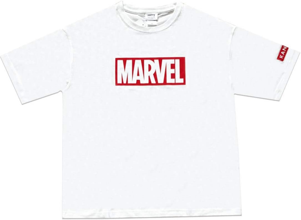 MARVEL マーベル×カンゴール BOXロゴ Tシャツ